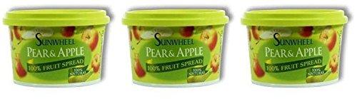 (3 PACK) - Sunwheel - Pear & Apple Spread | 300g | 3 PACK BUNDLE