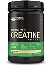 Optimum Nutrition Micronized Creatine Monohydrate Powder, Unflavored, Keto Friendly, 240 Servings (Packaging May Vary)