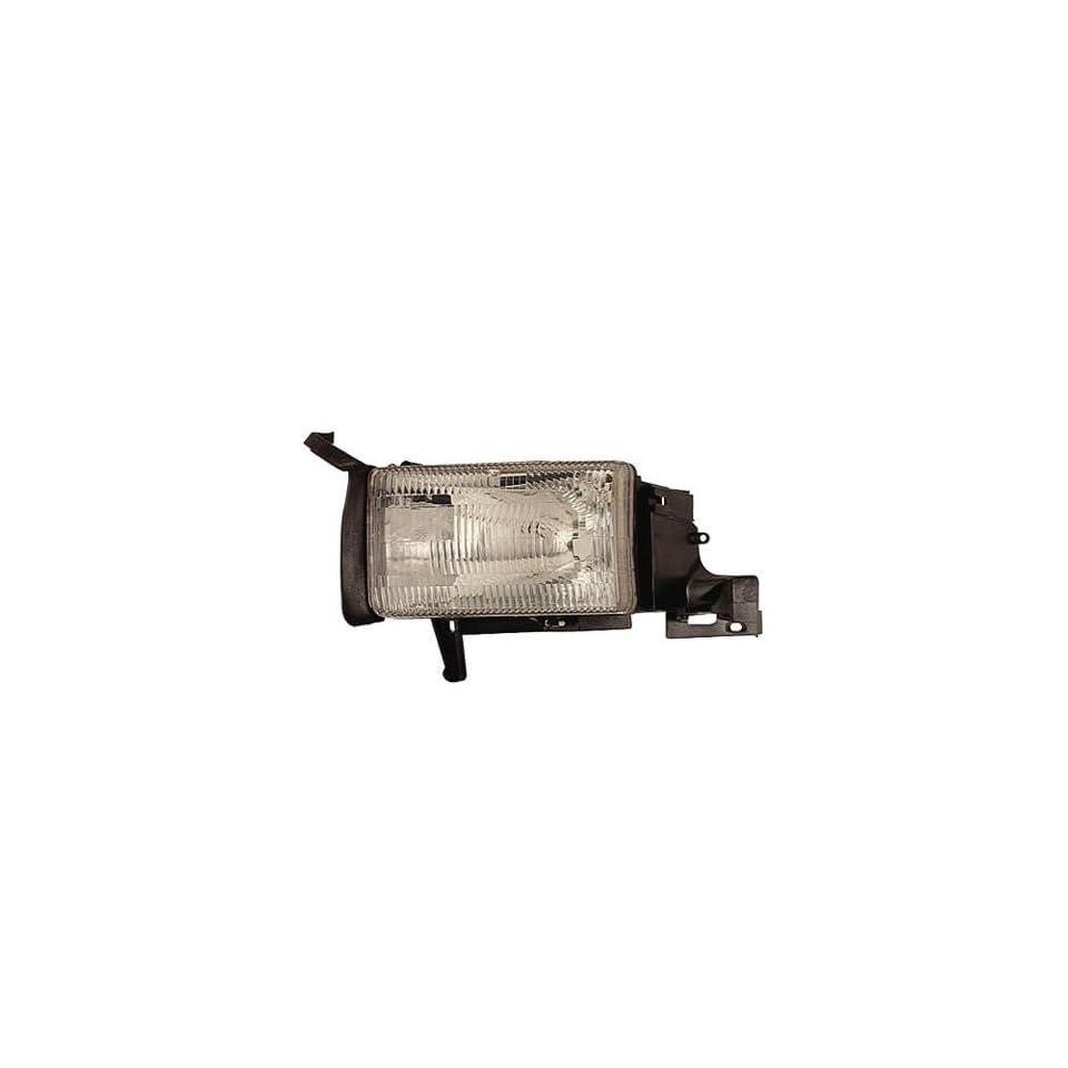 94 01 DODGE RAM PICKUP Left Headlight (W/O CORNER LAMP) (1994 94 1995 95 1996 96 1997 97 1998 98 1999 99 2000 00 2001 01) 55054781AF Headlamp Head Light Lamp LH