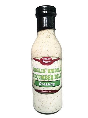 Vidiala Onion & Cucumber Dill Salad Dressing And Vegetable Dip