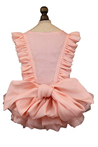 Puppy Face Dog Dress Summer Pet Tutu for Small or Medium Dogs Puppy Clothes Girl Dog Princess Skirt Outfits Cat Lace Apparel