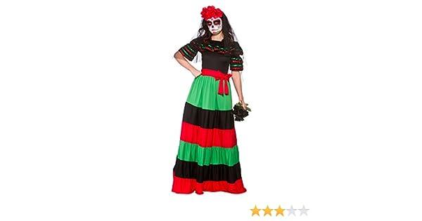 Wicked - Disfraz de Mexicana para el Día de los Muertos - 42-44cm ...
