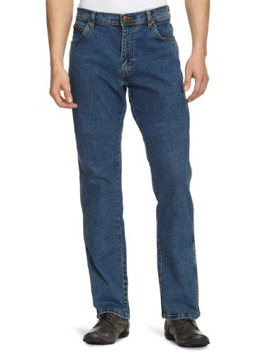 Wrangler Men's Texas Stretch Jeans 40W x 34L Darkstone