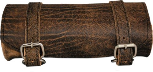 La Rosa Design Front Forks Tool Bag Rustic Brown Plain