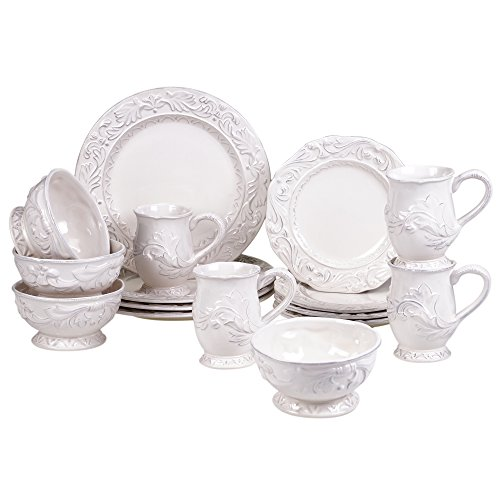 (Certified International 89091 Firenze 16 pc. Dinnerware Set, Service for 4, Multicolored )