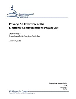 privacy law electronic communications privacy act The electronic communications privacy act was passed in 1986, and while  technology has changed significantly since then, the act has remained the same.