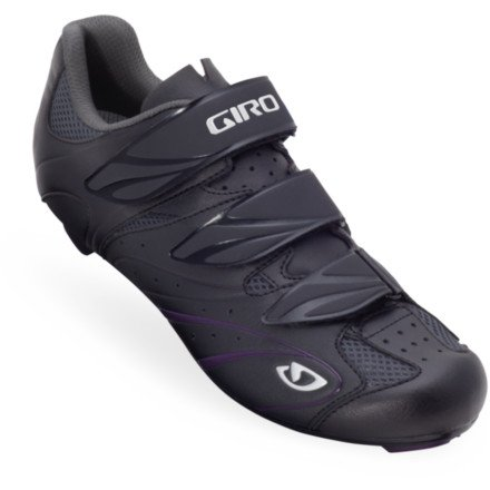 Giro 2013 Women's Sante Road Bike Shoes (Black/Plum - 41.5)