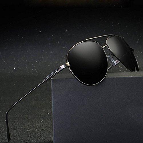 cadre 2 Mengonee soleil Lunettes de Coolsir Protection rétro Lunettes alliage Hommes de Lunettes conduite Lunettes UV400 en polarisants FzqTF