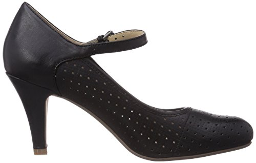 Bugatti V43646B - Zapatos de vestir de material sintético para mujer negro - negro