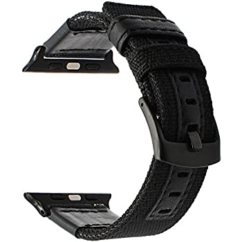 Amazon.com: TRUMiRR for Apple Watch Band 42mm, Woven Nylon