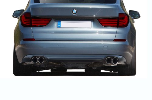 (Aero Function Replacement for 2010-2016 BMW 5 Series GT Gran Turismo F07 AF-1 Rear Lip Under Spoiler (GFK) - 1 Piece)