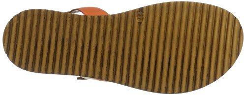 Orange Talons Sunburn Compensés Inuovo 7362 Femme BfppH