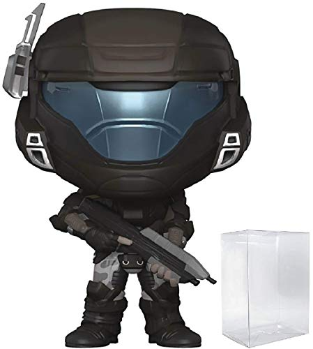 (Funko Pop! Games: Halo - Orbital Drop Shock Troopers Buck (ODST) Vinyl Figure (Bundled with Pop Box Protector Case) )
