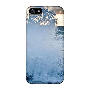 USTWgRh1577GzDNs Snap On Case Cover Skin For Iphone 5/5s(sea Coast Wave)