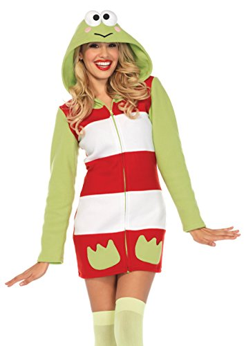 Leg Avenue Women's Keroppi Cozy Fleece Dress Costume for $<!--$49.95-->
