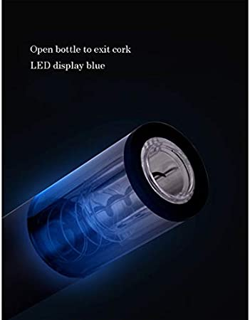 Sacacorchos de vino de alta gama Sacacorchos eléctrico Inalámbrico Juego de abrebotellas eléctrico, que incluye abridor automático de botellas Vacío, tapón de vino, cortador y vertidor de papel de alu
