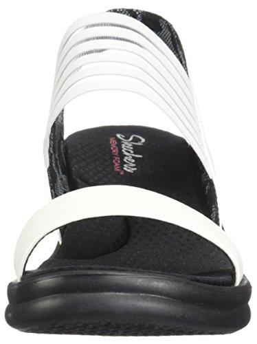 Skechers Wedges FI Women's WIDTH RUMBLERS White WDIE SCI 7fr7qwWUZ