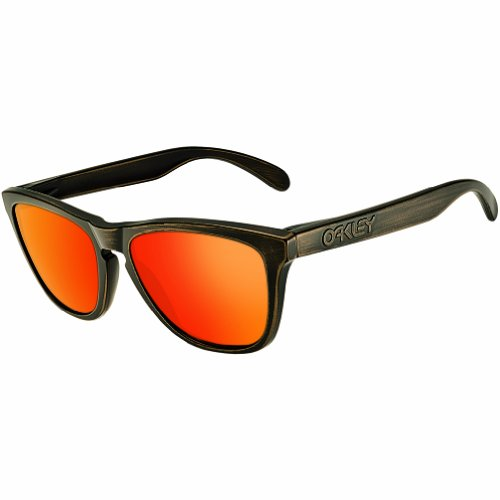 Oakley Men's Frogskins 24-414 Wayfarer Sunglasses,Brown Decay,55 - Oakley Edition Limited Sunglasses