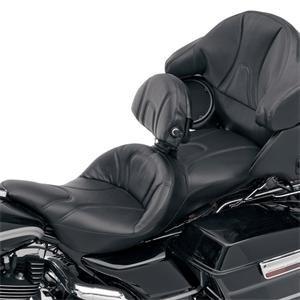 Amazon.com: Saddlemen Road Sofa Seat with Driver Backrest ...
