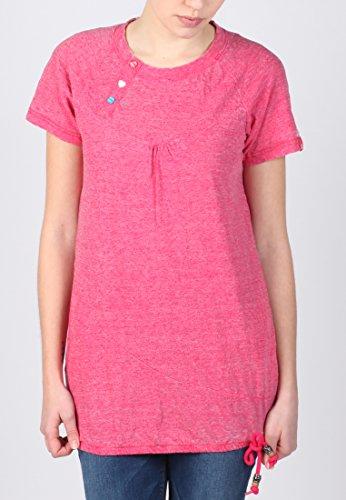 Alife and Kickin Mujer Camiseta Summer Fuchsia St Wa