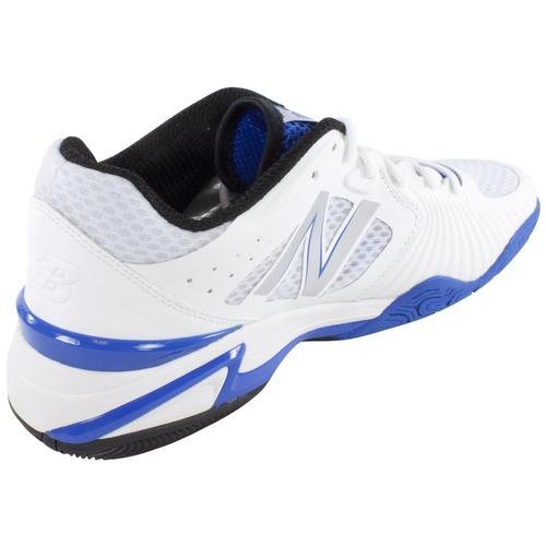 888098149623 - New Balance Men's MC1296 Stability Tennis Running Shoe,White/Blue,8 2E US carousel main 5