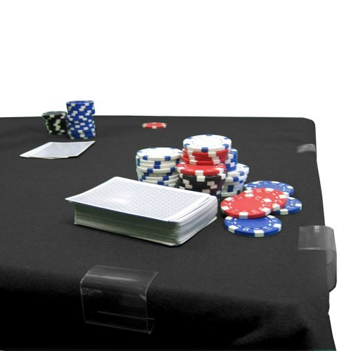 RED POKER/CARD TABLE FELT - 2YD WIDE X 4YD LONG by The Felt Store