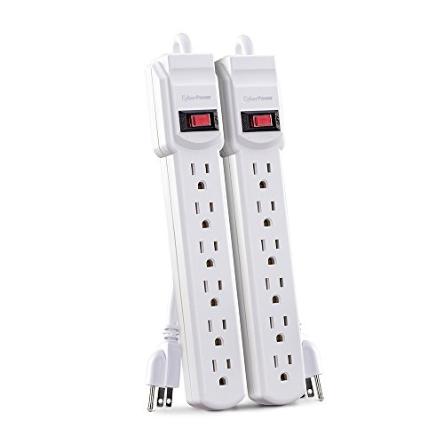 CyberPower MP1044NN Power Strip 6-Outlets 2-Foot Cord
