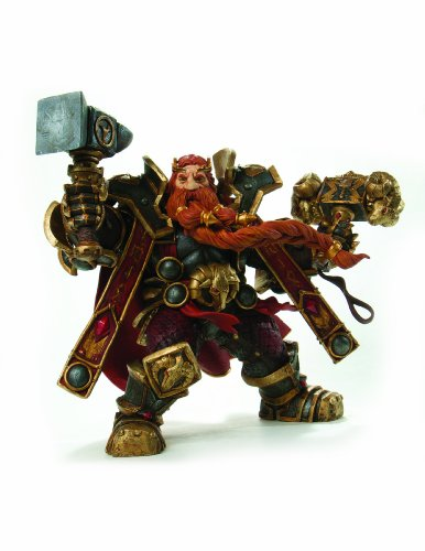 World of Warcraft: Series 6: Dwarven King: Magni Bronzebeard Action Figure
