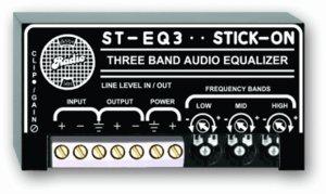 RDL ST-EQ3 3 Band Equalizer - Line Level