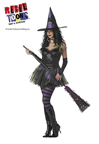 POPLife Wicked Witch of the West Rebel Toons Costume (Wicked Witch Of The West Socks)