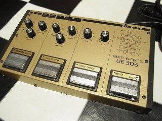 Ibanez UE305 MultiEffects Guitar Pedal Compressor Delay for sale  Delivered anywhere in USA