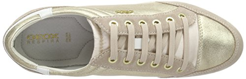 Myria Femme D Geox Taupec2lh6 lt Or lt Baskets E Gold Basses Gold TfZAA6n7