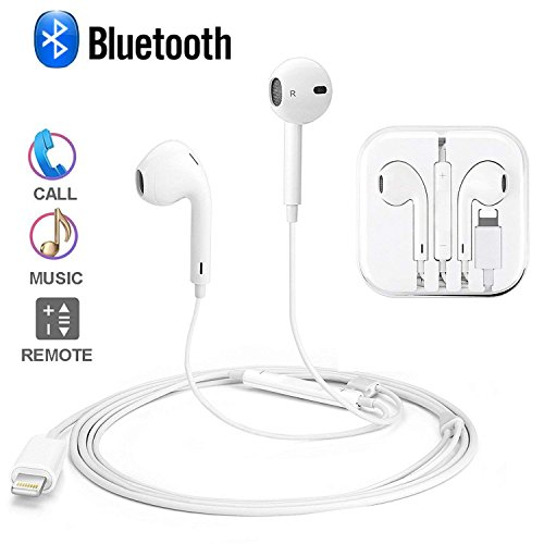 Lightning Earphones,With Microphone Earbuds Stereo Headphones and Noise Isolating headset Made for iPhone 7/7 Plus iPhone8/8Plus iPhone X Earphones,Support all iOS system by my-handy-design (Image #1)