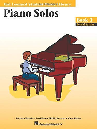 - Piano Solos - Book 3: Hal Leonard Student Piano Library