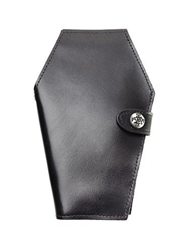 Alchemy Gothic Dead End Coffin Leather Wallet by