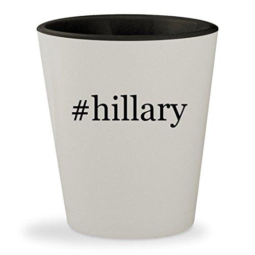 Price comparison product image #hillary - Hashtag White Outer & Black Inner Ceramic 1.5oz Shot Glass