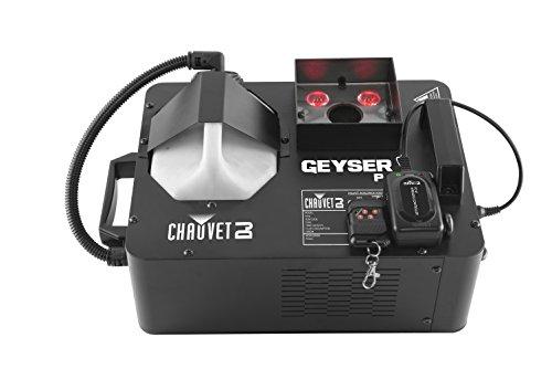 CHAUVET DJ Geyser P4 Vertical Fog Machine w/LED Light Effects & Remote Control | Fog Machines by CHAUVET DJ