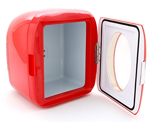 (Vivitar 82123-RED-AMX 12 Can Mini Hot & Cold Refrigerator - Color May Vary)