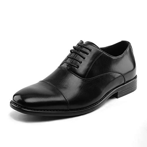 Bruno Marc Men's DP06 Black Cap Toe Oxford Dress Shoes Size 13 M US
