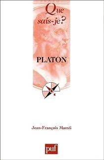 Platon par Mattéi
