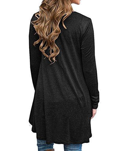 Solide shirts Baggy T Off Épaule Très Noir shopping Femme 365 Tops Blouse Courroie vxw8tt