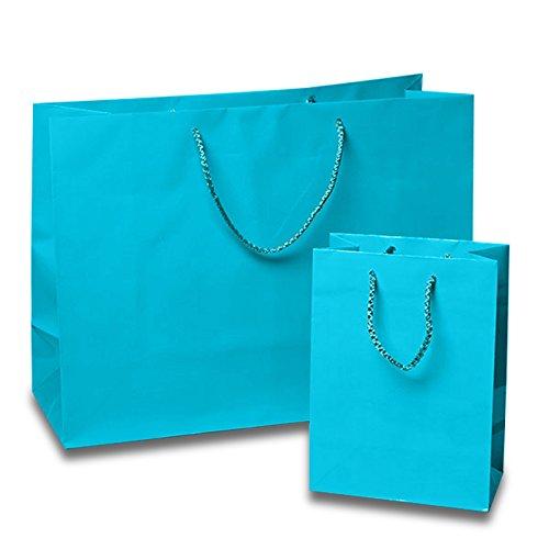 25ea - 9-3/4 X 4 X7-3/4 Mini Vgue Gloss Scuba Blu (Gloss Eyelet)