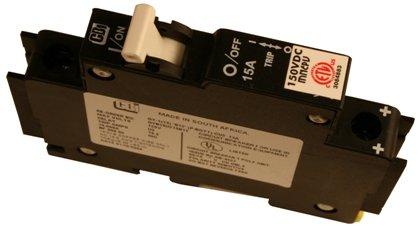 (MidNite Solar Breaker 3A 150VDC MNEPV3)