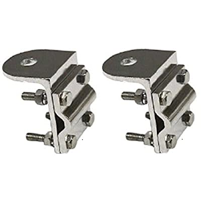 Lot of 2 Workman RV3 3-Way CB Radio Single Groove Mirror Mounts With / No Stud: Sports & Outdoors
