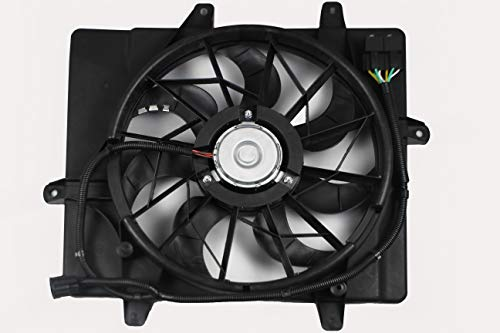 Cruiser Engine Chrysler Pt Motor (BOXI Radiator Cooling Fan Assembly For Chrysler PT Cruiser 2006-2010 (excluding Turbo Models) 5179470AA)