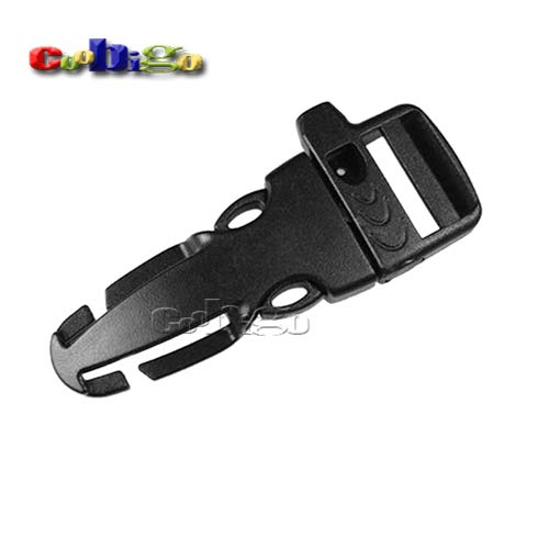 Side Release S Plastic Outdoor Camp Emergency Survival Whistle (20Mm) | Backpack Bag Parts