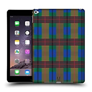 Head Case Designs Blue Green Flannel Fridays Protective Snap-on Hard Back Case Cover for Apple iPad Air 2