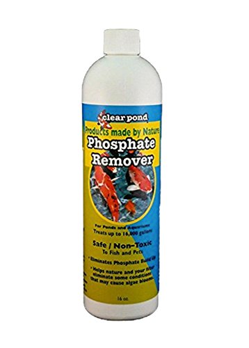 Clear Pond Phosphate Remover, 16-Ounce ()