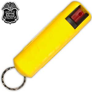 Amazon.com: P-404-yl Yellow 1/2 Oz Clamshell Pepper Spray ...