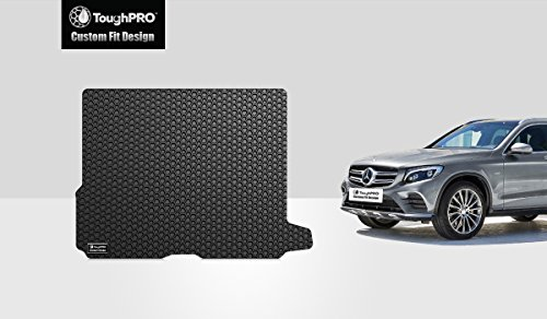 ToughPRO Cargo/Trunk Mat Compatible with Mercedes-Benz GLC - All Weather - Heavy Duty - (Made in USA) - Black Rubber - 2016, 2017, 2018, 2019, 2020